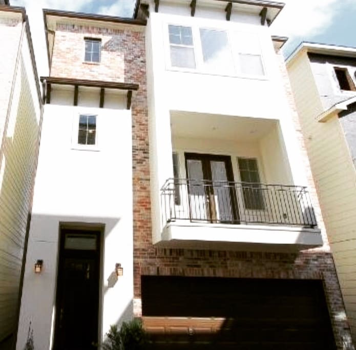 Luxury 3 story Townhouse in a great location.