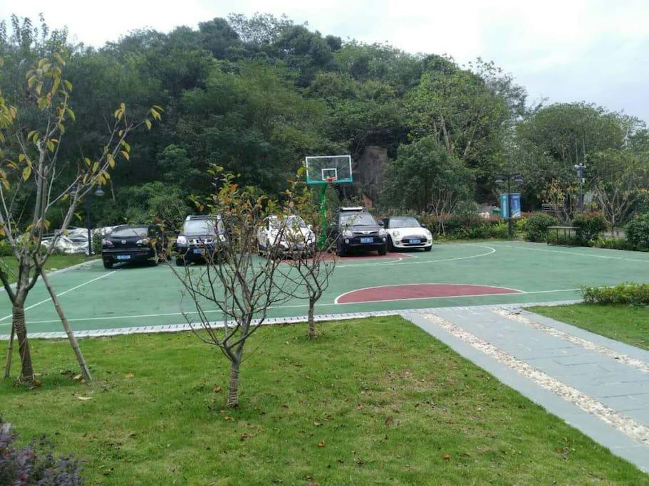 公共区域:篮球场