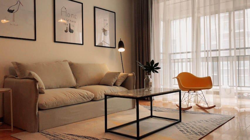 【Kevin's Home】徐州No.1 地暖两室'麻将机、桌游、五晚接机