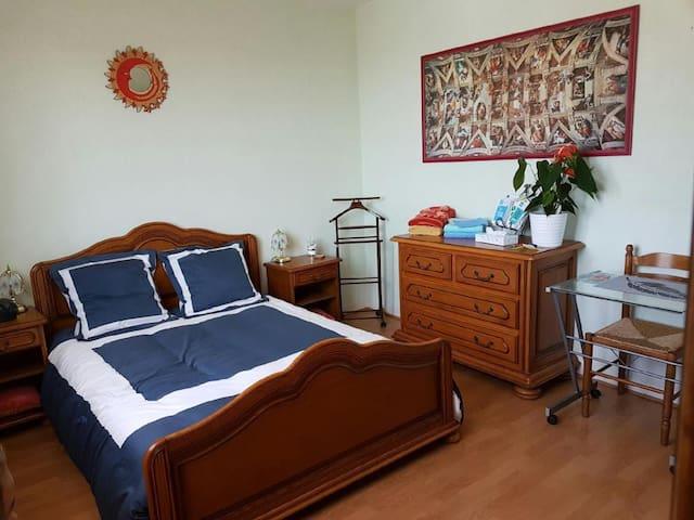 Chambre accueillante proche du centre ville - Nantes - Apartament