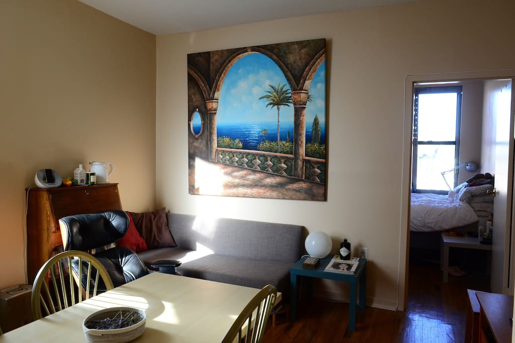 As you can see our living room also has great views of Morocco ;-)
