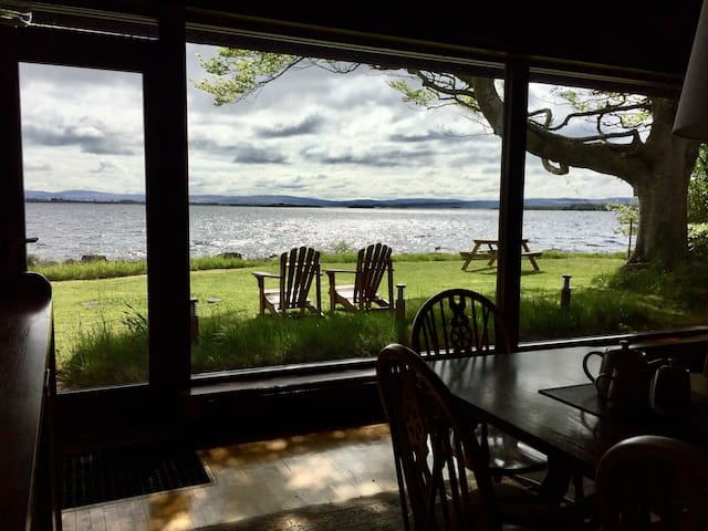 Ballycurrin Boathouse - Lakeside on Lough Corrib