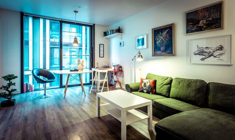 modern flat in city centre
