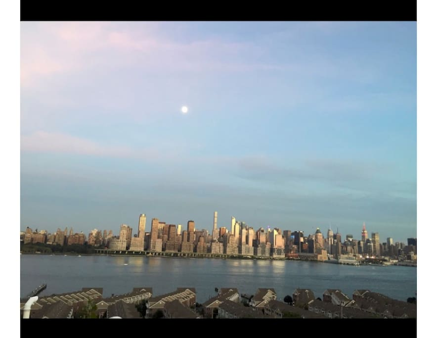 View of NYC from Building