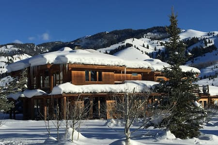 Scenic & Private Log Cabin, Ketchum / Sun Valley - Ketchum - Dom