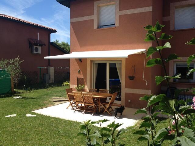 Maison T4 avec jardin aux portes de Toulouse