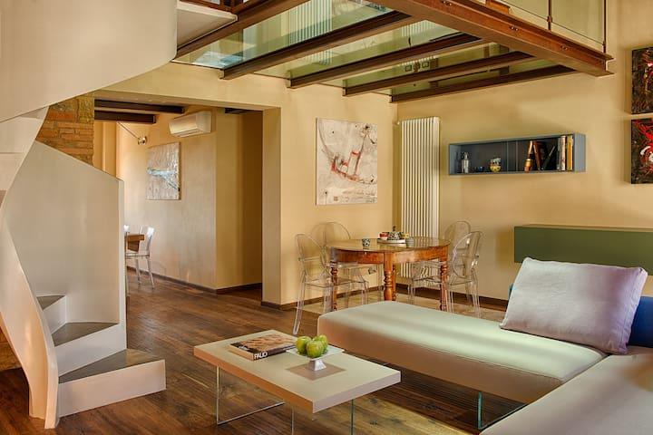 Amazing Chianti Apartment Design and Infinity Pool