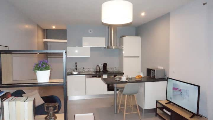 Studio Cosy 10 minutes from city center
