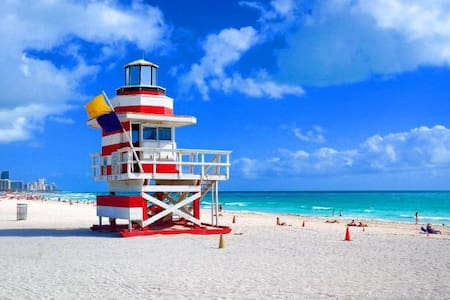 APARTMENT RIGHT ON THE BEACH! - Miami Beach - Apartamento