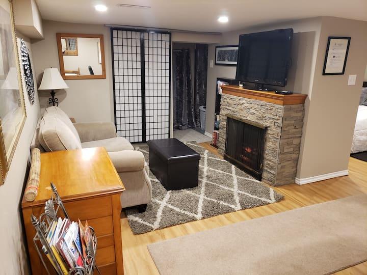 Downtown luxury basement suite