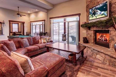 Deer Mountain - Spacious 5BR, Epic Mountain Views - Kamas - Maison