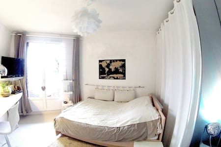 Furnished room with a terrace   - Byt