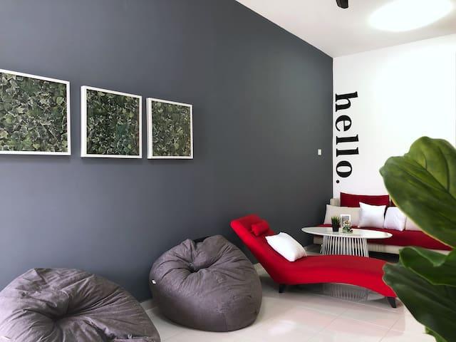 Stylish HomeStay Seremban/3min to Town