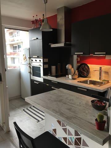Appartement cosy à Lyon - Bron - Departamento