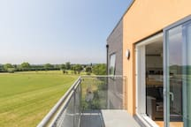 The balcony, great for summer BBQs