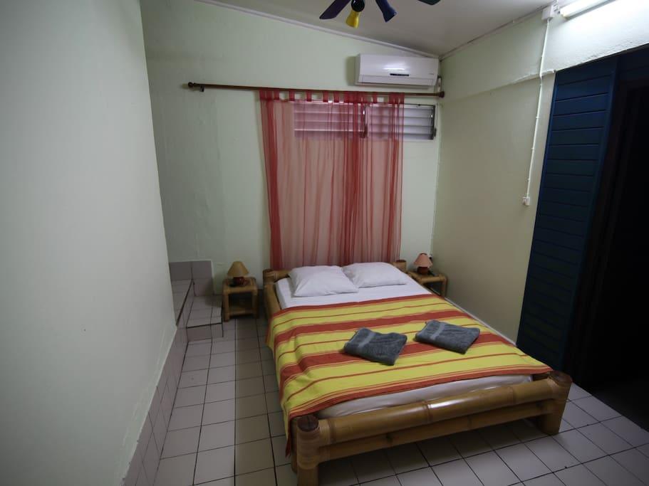 "Chambre bungalow ""Haïti"""