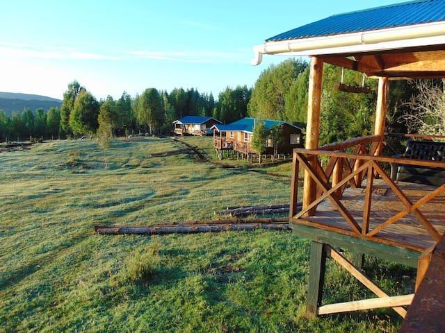 Cabañas Encantos del Sur en Queilen, Chiloe