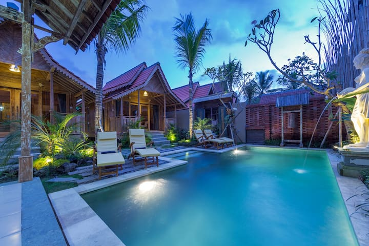 AMAZING NEW 1BR VILLA W/POOL~CLOSE TO UBUD PALACE - Ubud - Villa