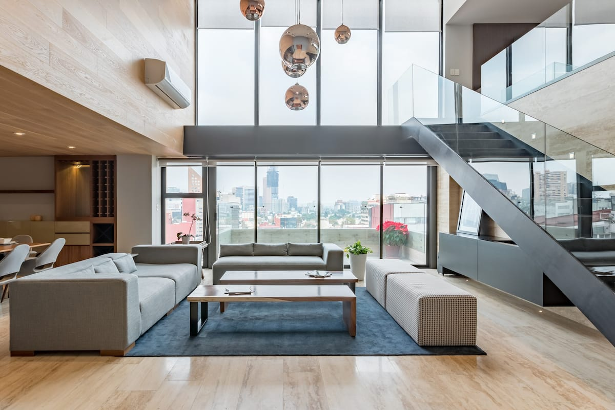 Sophisticated Penthouse/Disinfection and Sanitization