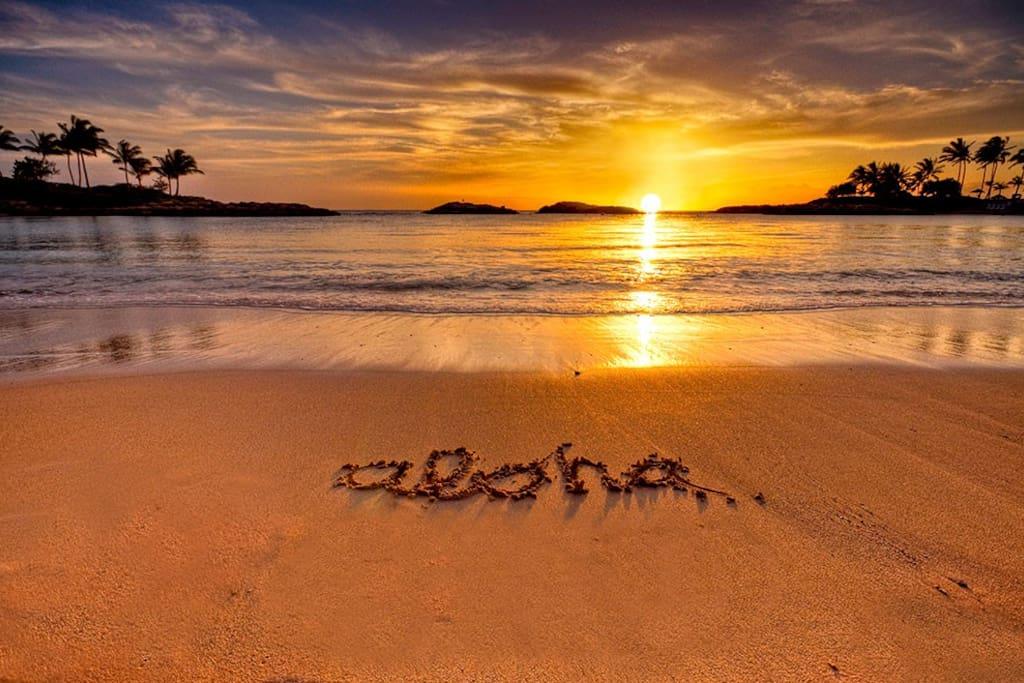 Makaha Beach!