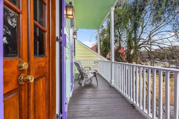 Petite Purple Passion - Faubourg Tremé Sanctuary