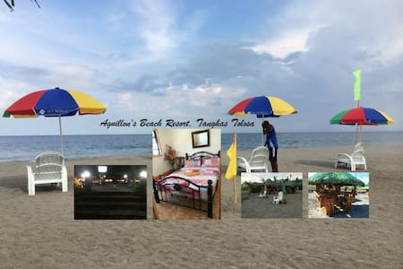 Bungalow rooms on beach resort - Bayan ng Tolosa - บังกะโล