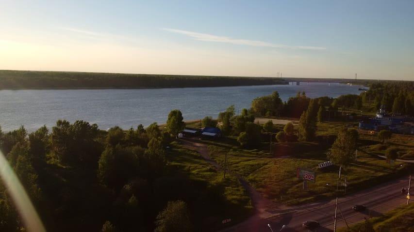 Студия с видом на Неву - Kirovsk - Apartmen