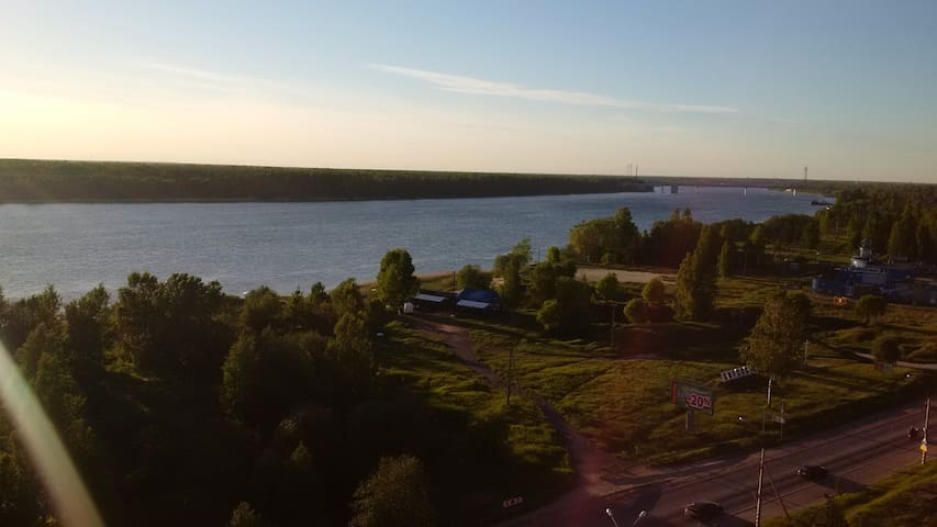 Студия с видом на Неву - Kirovsk - อพาร์ทเมนท์