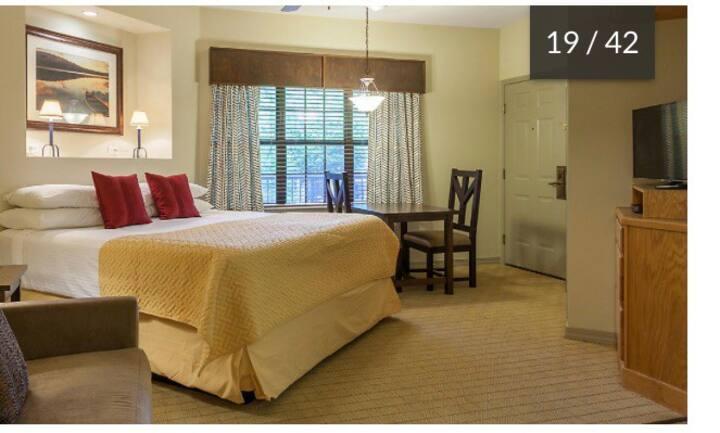Falls Village condo in central Branson! Sleeps 4!