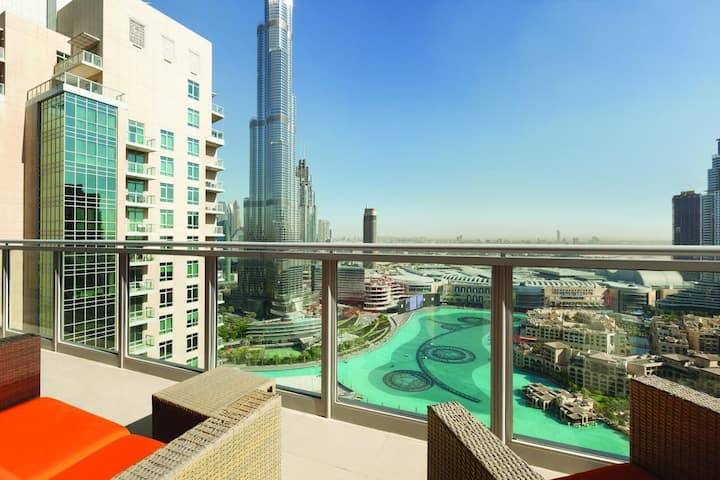 you'll be centrally located in Dubai