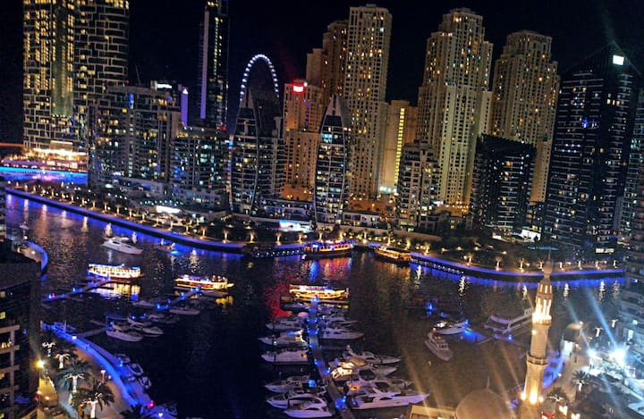 THE VIEW. The best view in Dubai Marina