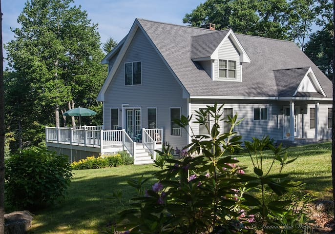 Immaculate waterfront home - Edgecomb - Dom