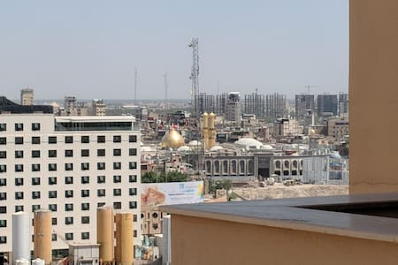 Excellent penthouse w/ view of Imam Hussain Shrine