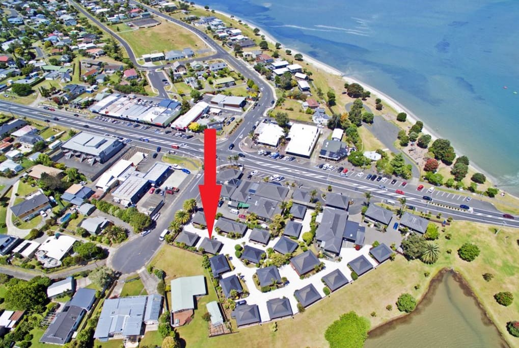 Unit location in the resort 223 Main Rd, Tairua