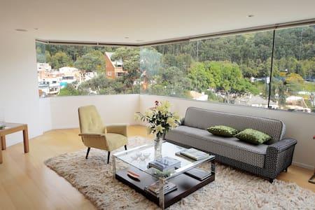 Modern Flat with Stunning View & Great Location - Bogotá - อพาร์ทเมนท์