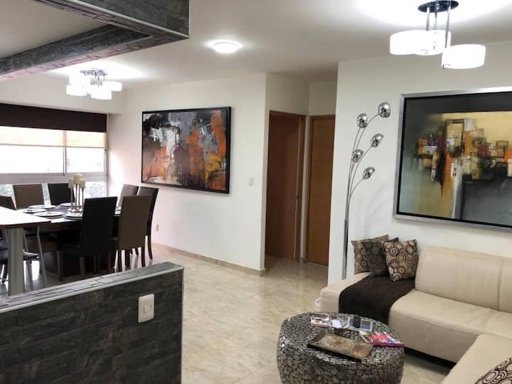 Lindo y acogedor apartamento en zona Polanco