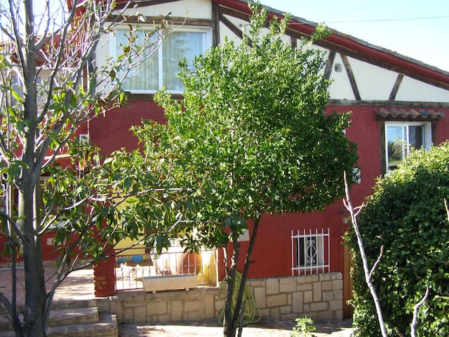 Private, spacious home with large surrounding yard - El Tiemblo - Дом