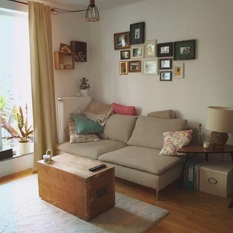 Privates Zimmer nahe Stadtzentrum - Cologne - Appartement