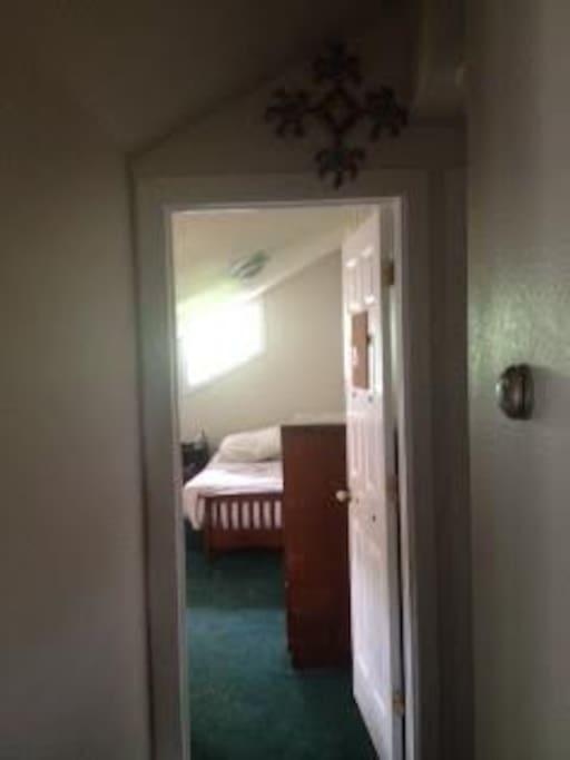 Room from hallway
