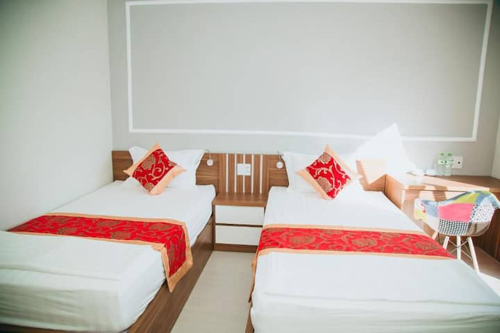 Hostel In Ha Giang City: Private Clean Room