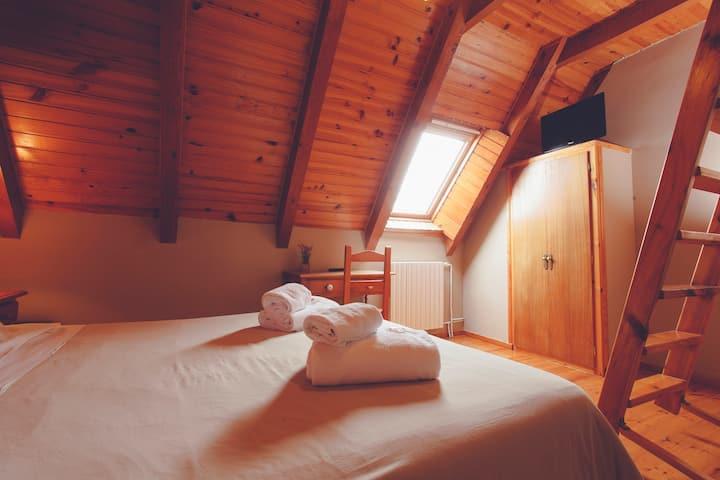 Acogedora habitación familiar en Valle de Aran