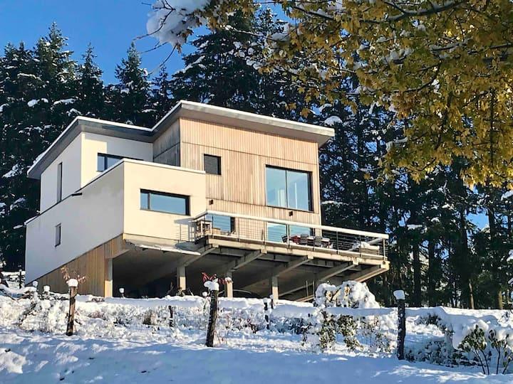 Maison d'architecte au cœur de la nature
