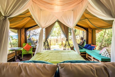 Explore West Bali & Relaxed Beachfront Glamping