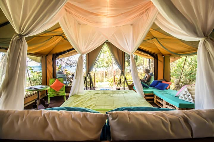 Glamping Escape in Quiet West Bali