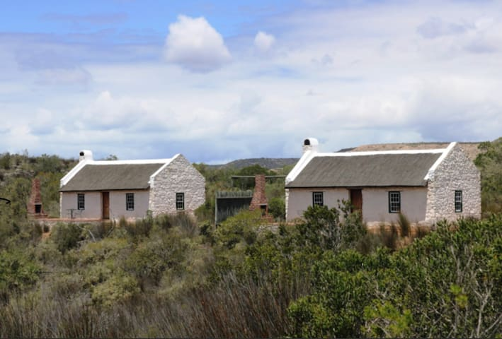 Traditional Cape Cottage On Nature Reserve