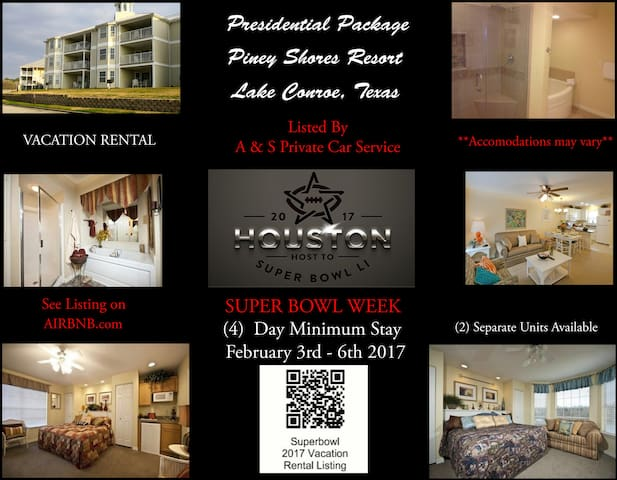 Presidential Style Living for Super Bowl 51 List#2 - Houston - Teilzeitwohnung