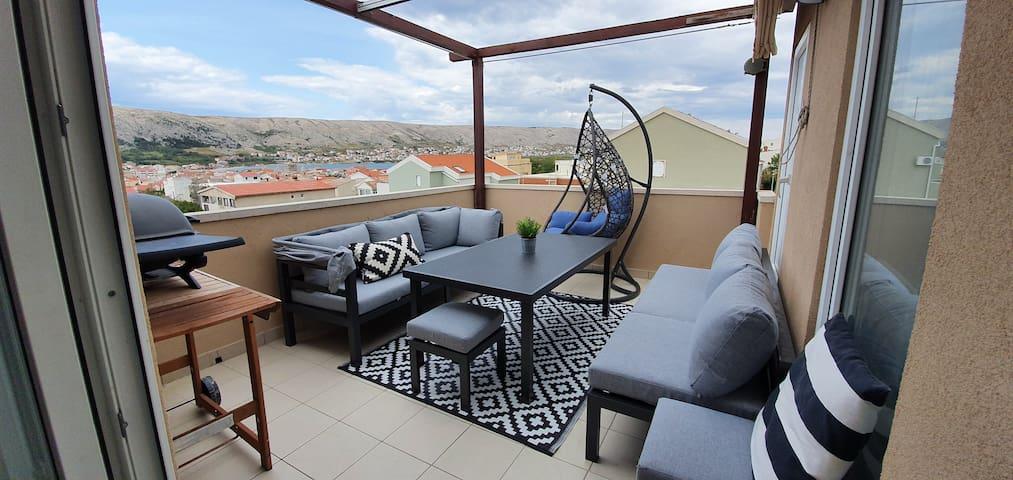 Apartment Marta otok Pag Croatia