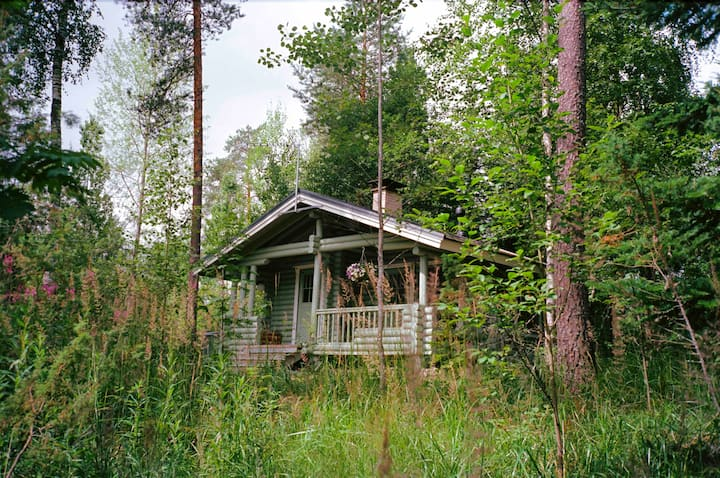 Ilves cabin with sauna at Fish&Fun holiday Village