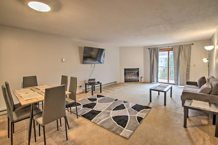 NEW! Apartment w/ Balcony: 2 Mi to Loon Mtn Skiing