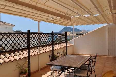 Penthouse with amazing sea view terrace in Altea